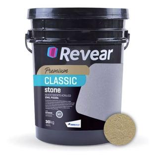 Revear Classic Stone Revestimiento Acrilico X 30kg - Prestigio