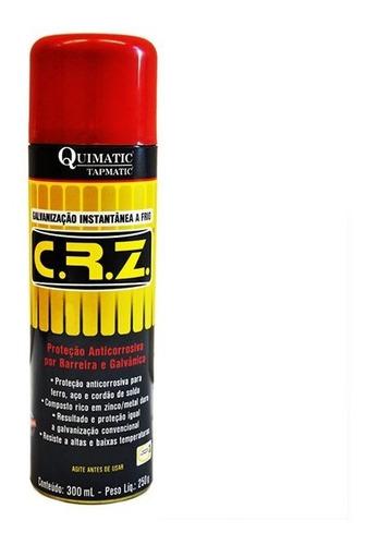 Crz Galvanizador A Frio  Spray 300ml - Quimatic