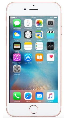 Imagem 1 de 4 de iPhone 6s Plus 16gb Usado Seminovo Ouro Rosa Bom
