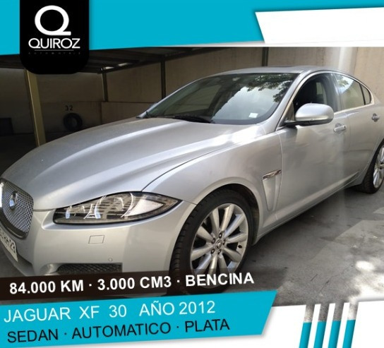 Jaguar Xf 30 Full Año 2012