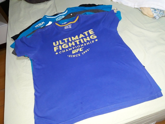 Camiseta Ufc Azul