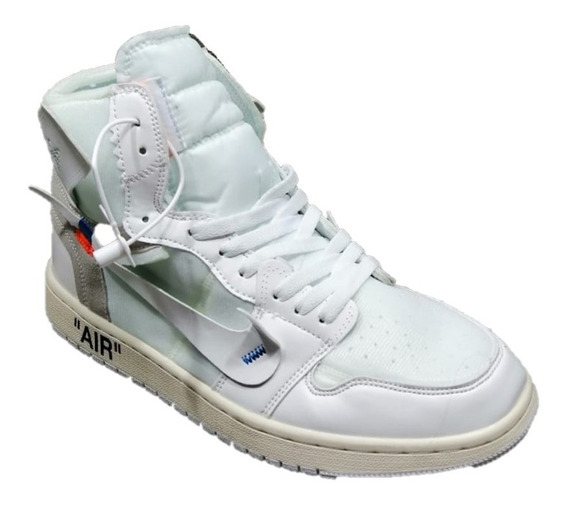 Tenis Sneakers Jordan 1 Retro High Off - White Envio Gratis