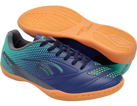 Chuteira Futsal Masculina Dalponte Twister Indoor Azul 8341