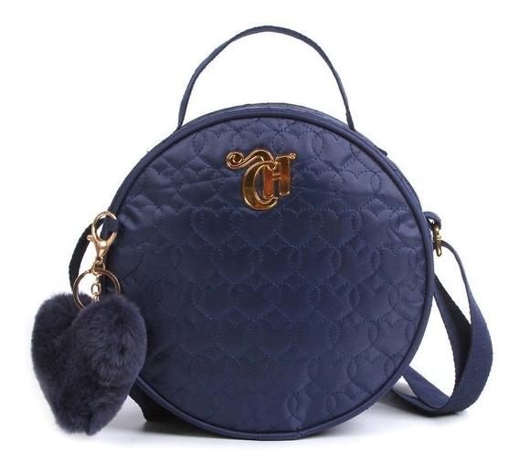 Bolsa Capricho Love Azul 11342 - Dmw