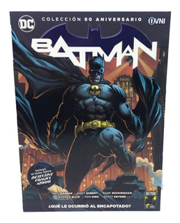 Batman 80 Aniversario Nº 01 Que Le Ocurrió Al Encapotadol:19