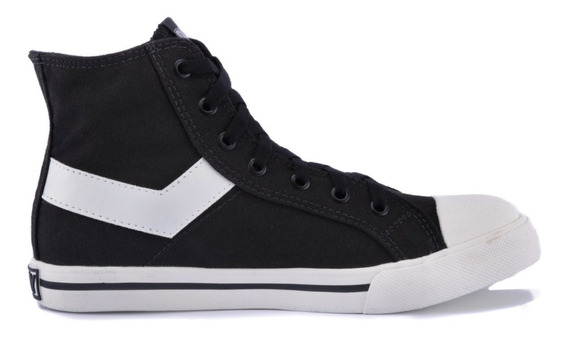 Zapatillas Pony Shooter Hi Canvas Negro Po101001