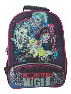 Mochila Espalda Monster High 16 PuLG Original