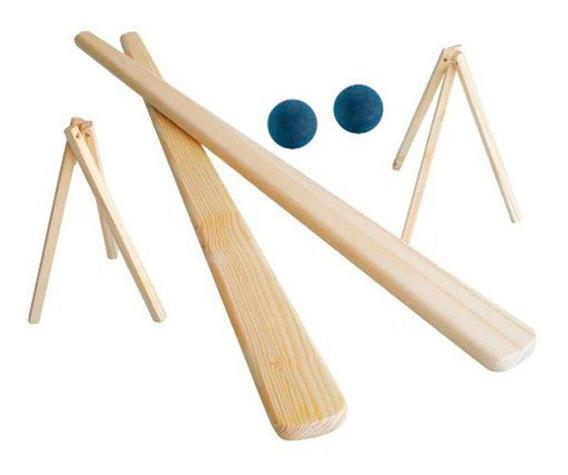 Brinquedos Educativos - Jogo De Bets - 02 Tacos 02 Bolas