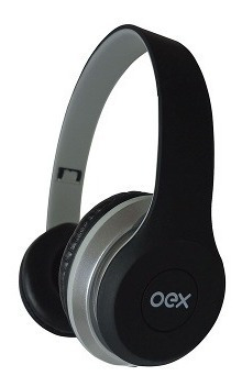 Combo Twin Headset + Fone De Ouvido Hf-100 Preto Hf100 Oex