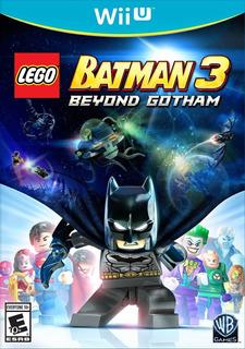 Lego Batman 3 - Wii U - Juego Fisico - Megagames