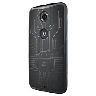 Nexus 6 Funda Cruzerlite Bugdroid Circuit Tpu Funda Compatib
