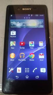 Celular Smartphone Sony E3 Dual Preto Desbloqueado