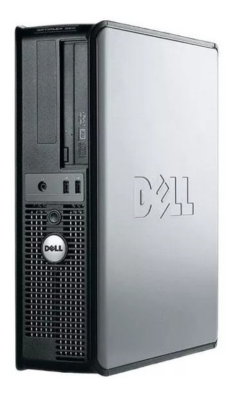 Cpu Dell 380 Dual Core E5300/ 4gb Ddr3 / Hd 160 Gb 05 Un