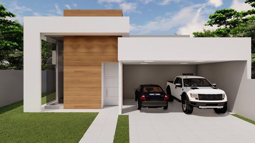 Projeto Residencial - 152m² (terreno Minimo 13m X 25m)