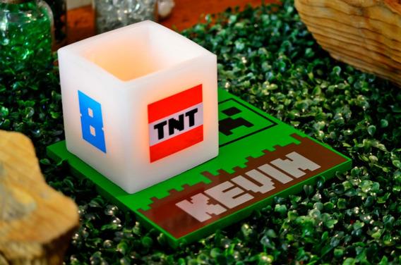 Centro De Mesa Infantil Minecraft Aluzza