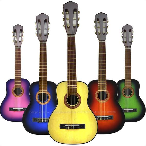 Guitarra Criolla Niño Mini + Funda + Pua + Garantia + Envios