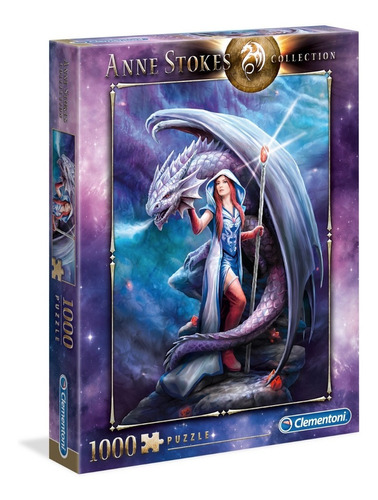 Puzzle Dragon Mage - Anne Stokes-