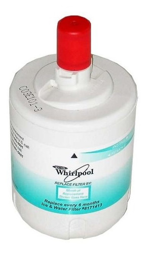 Filtro Nev. Whirlpool De Agua Redondo Fsp 8171413 / Wfi-