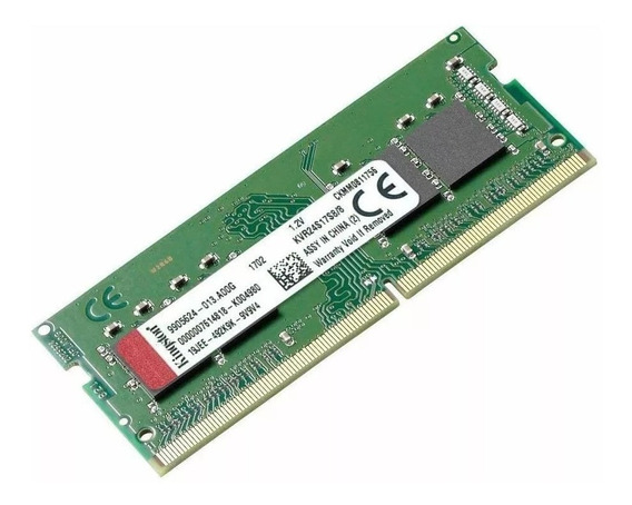 Memoria Ram Kingston Ddr4 8gb 2400mhz So-dimm Notebook