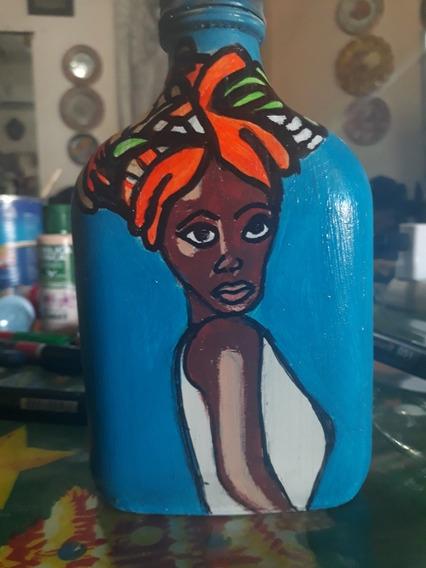 Botellas Pintadas A Mano