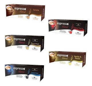 Kit 50 Cápsulas Café Compatíveis Nespresso - Escolha Sabor