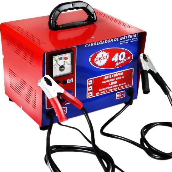 Carregador De Bateria 40a Compact-okei-cb40compact