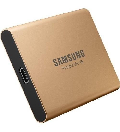 Hd Ssd Externo 500gb Samsung T5 Usb 3.1 2117 Lacrado Nfe