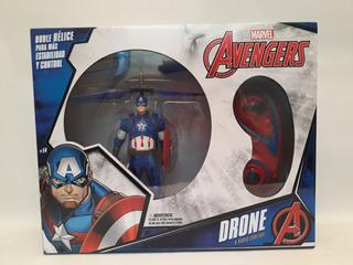 Avengers Capitan America- Drone R/c- Marvel- Original