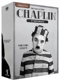 Chaplin The Collection 4ª Temporada - 3 Dvds Série Comédi