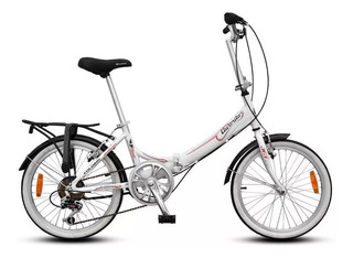 Bicicleta Plegable Aurora Aurorita Folding Classic Roja