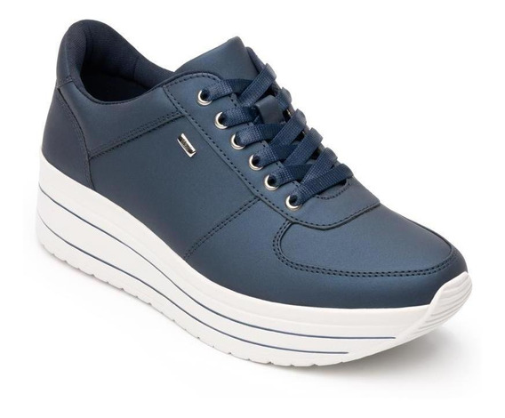 Sneaker Flexi Mujer Urbano 101001 Azul