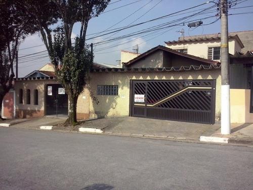 Imagem 1 de 7 de Casa Térrea Com 03 Drs E Edicula Ao Lado Do Bem Barato-sbc - 911