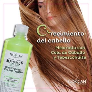 Set 5 Pzas Shampoo De Bergamota Elementos Concentrados