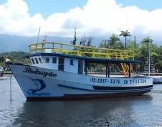 Barcos Pescarias Embarcada Alto Mar Rio E Ilhas