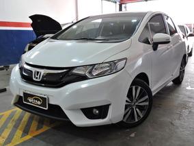 Honda Fit 1.5 Flex Exl Completo Automático Financia E Troca