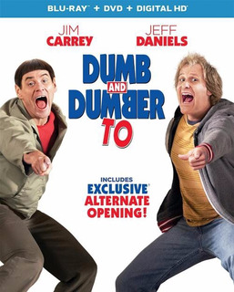 Blu-ray + Dvd Dumb & Dumber To / Tonto Y Retonto 2