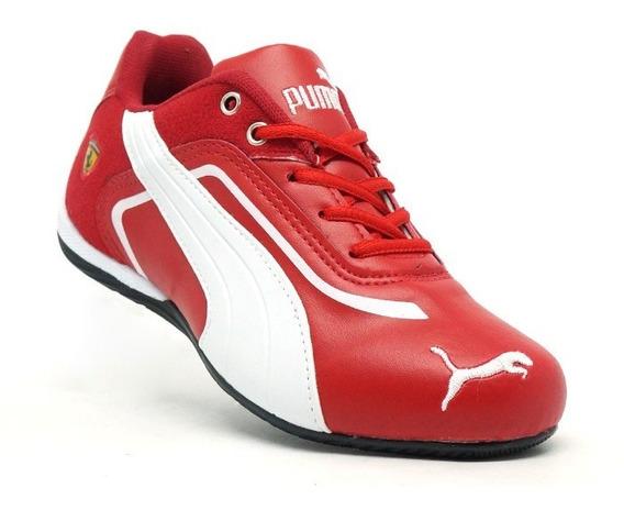 Tênis Masculino Feminino Ferrari Caminhada Confortável Leve Treino Esportes