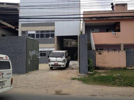 Galpão Para Alugar, 600 M² Por R$ 15.000/mês - Taquara - Rio De Janeiro/rj - Ga0002