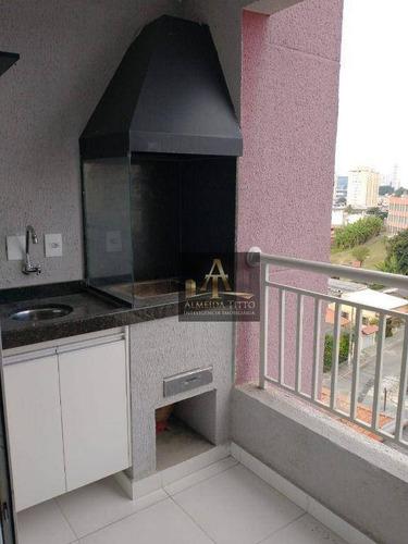 Imagem 1 de 15 de Excelente Apartamento À Venda No Raiza 3, Barueri. 2 Dorms, 1 Vaga, Gourmet E Localização Privilegiada! - Ap3238