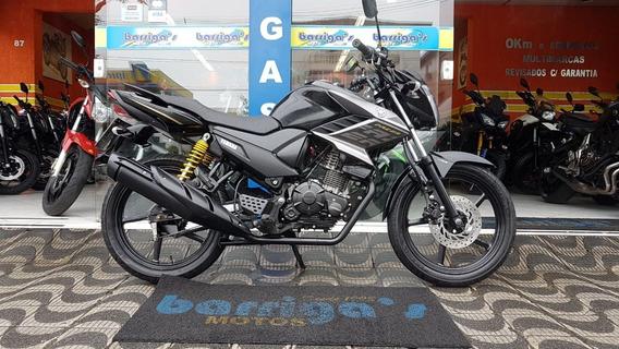 Yamaha Ys 150 Fazer 2018 Preta Único Dono