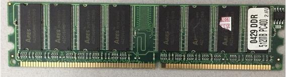 Memória Ares Ddr 400 512mb
