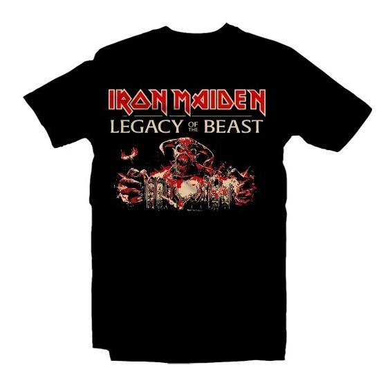 Playeras Iron Maiden - 15 Modelos Disponibles
