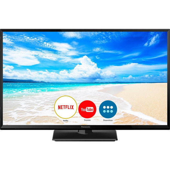 Smart Tv 32 Led Panasonic, Wi-fi, Hdmi, Usb - Tc32fs600b