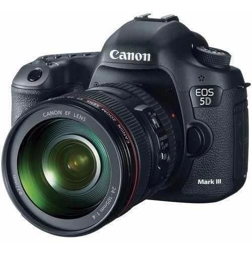 Canon Eos 5d Mark Iii, Lente Canon 24-105mm, Flash 600ex Rt.