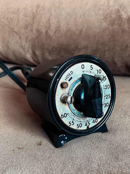 Timer Analógico Vintage Para Ampliador Fotográfico