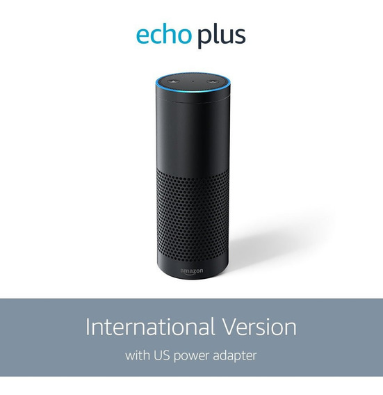 Echo Plus Black With Built-in Smart Home Hub