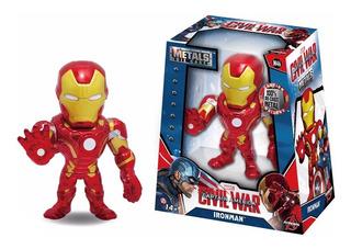 Marvel Metals Die Cast Iron Man Civil War 100% Original