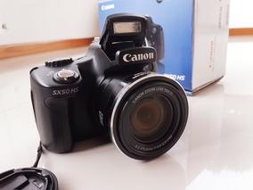Vendo Camera Sx50 Sh - 50x Zoom Linda E Revisada Pela Canon