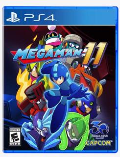 Megaman 11 Digital Ps4 Primaria Neo Gamez