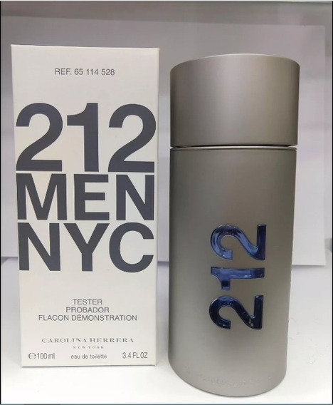 Perfume Carolina Herrera 212 Men Nyc 100ml Edt - Original T